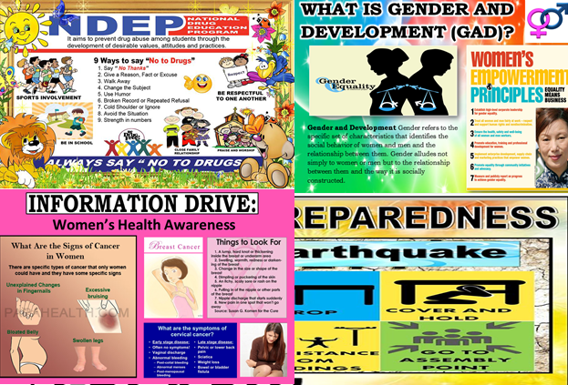 Posters For Gad Drrm And Ndep Corner Guro Ako
