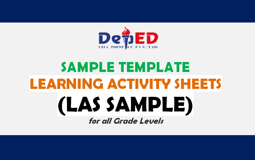 Learning Activity Sheets (LAS SAMPLE) For All Grade Levels - Guro Ako